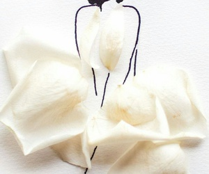 flowers, Marilyn Monroe, and drawing image