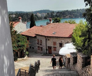 church, Croatia, and summer image