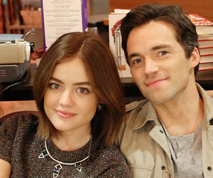 couple, lucian, and aria montgomery image