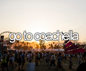 coachella, before i die, and festival image
