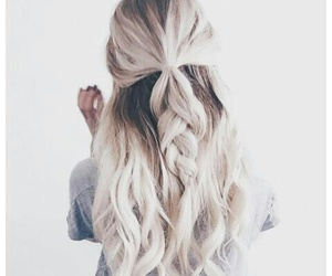 hairstyle, tumblr, and wavy hair image