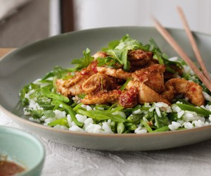 basil, Chicken, and chilli image
