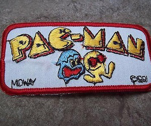 pac-man, patch, and patches image