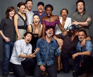 the walking dead, twd, and cast image