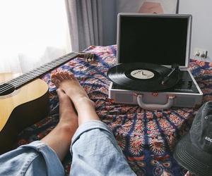 music, guitar, and tumblr image
