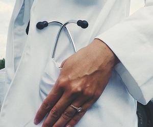 doctor, medical, and school image