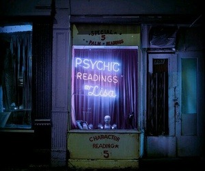 psychic and neon image