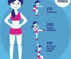 fitness, exercise, and legs image