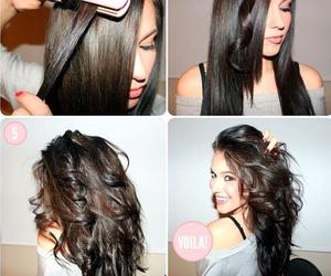 diy, hair, and cabello image