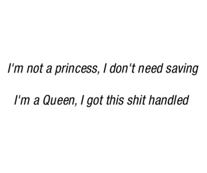 Queen, quotes, and slay image