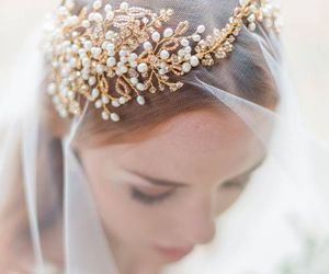 beautiful, bridal, and lovely image