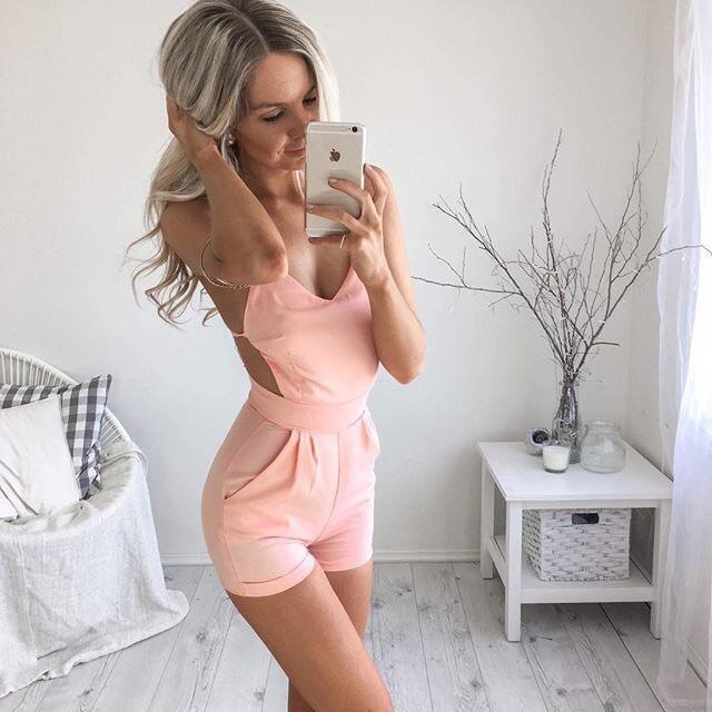 peach, pretty, and cute image