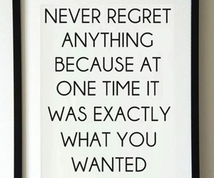 quote, regret, and truth image