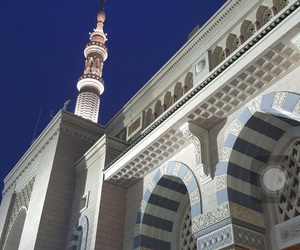 islam, madina, and mosquee image