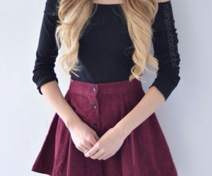 black, buttons, and jewelry image