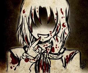 anime, tsundere, and blood image