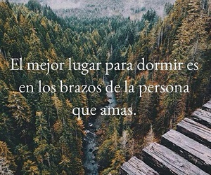 love, dormir, and frases image