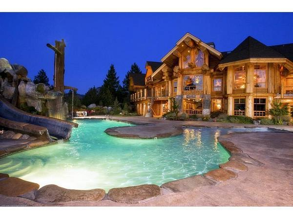 pool, home, and pretty image