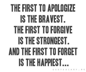 quote, happy, and brave image