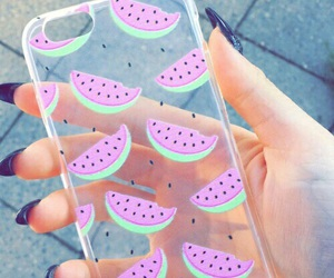 case, iphone, and melons image