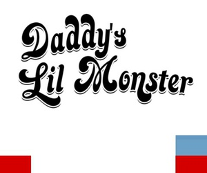 harley quinn, suicide squad, and daddy's lil monster image