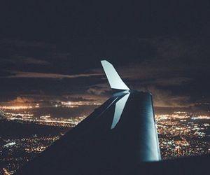 city, fashion, and night image