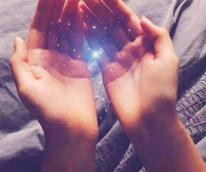 magic, hands, and stars image
