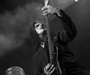 black and white, slipknot, and stone sour image
