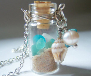 sand, shell, and cute image