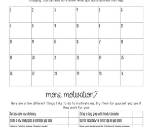 planner, study, and printables image
