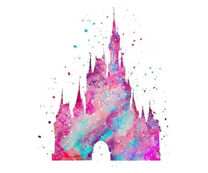 disney, background, and pink image