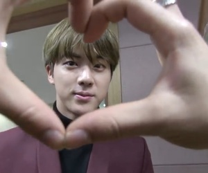 asian, bts jin, and jin image