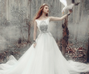 beautiful, fairytale, and gown image
