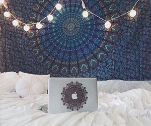 bedroom, tumblr, and light image