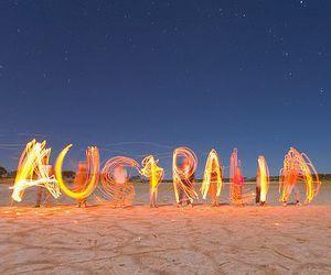 australia, light, and beach image