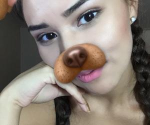 eyebrows, makeup, and NYX image