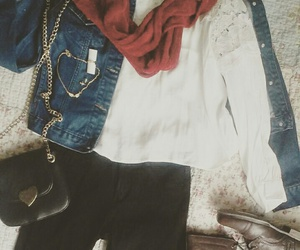 date, fall, and jacket image