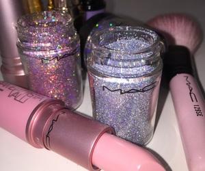 mac, makeup, and pink image