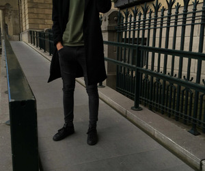 boy, fashion, and black image