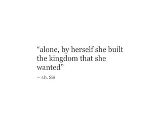 quotes, alone, and kingdom image