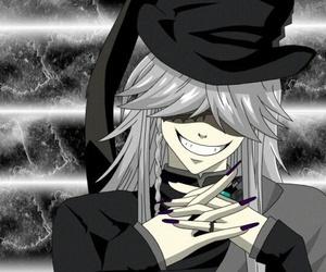 undertaker, kuroshitsuji, and black butler image