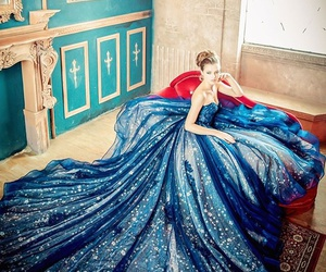 ball gowns, colors, and creativity image