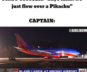 airplane, captain, and facebook image