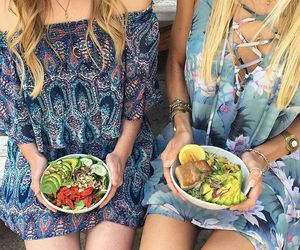 best friends, bffs, and bohemian image