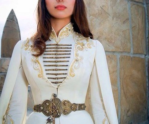 caucasus, traditional, and wedding dress image