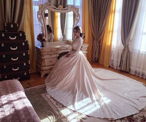 caucasus, wedding dress, and traditional dress image
