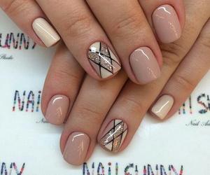nails, beauty, and nail design image