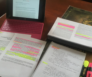 coffee, students, and study image