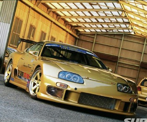 gold, jdm, and Hot image
