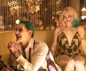 harley quinn, the joker, and suicide squad image